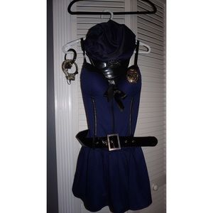 Dresses & Skirts - Sexy Cop Halloween Costume Adult Small Petite